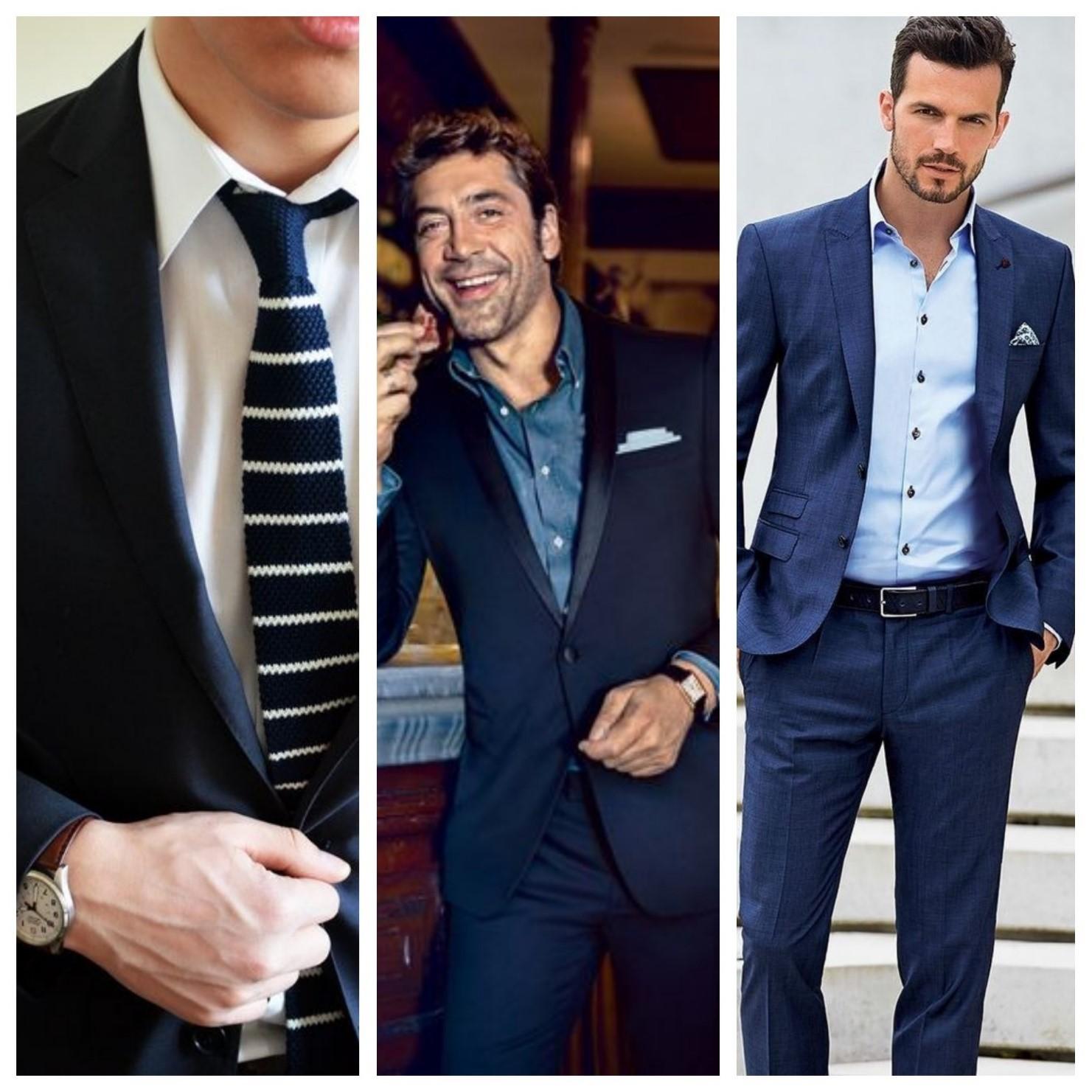 Cum să porți un costum bleumarin!